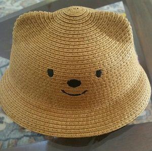 Bear Straw Hat